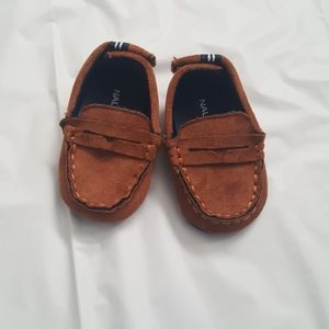 Infant Nautica suede loafers
